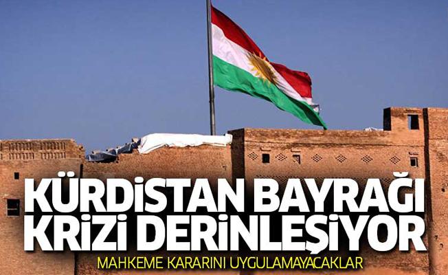 Kerkük'te Kürdistan bayrağı krizi derinleşiyor...