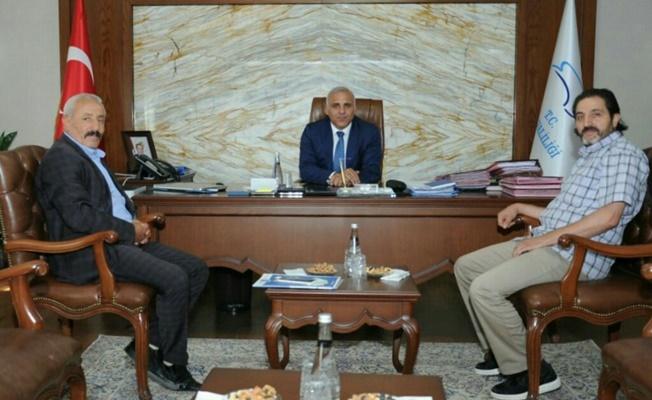 MHP Özalp ilçe başkan yardımcısı Baltacı'dan Vali Zorluoğlu'na ziyaret