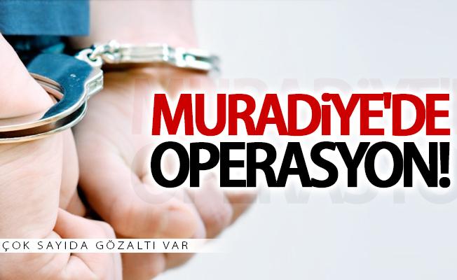 Muradiye'de flaş operasyon! Çok sayıda gözaltı var