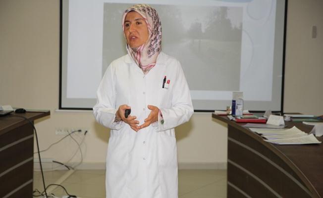 Sağlık çalışanlarına kadına yönelik şiddetle mücadele eğitimi
