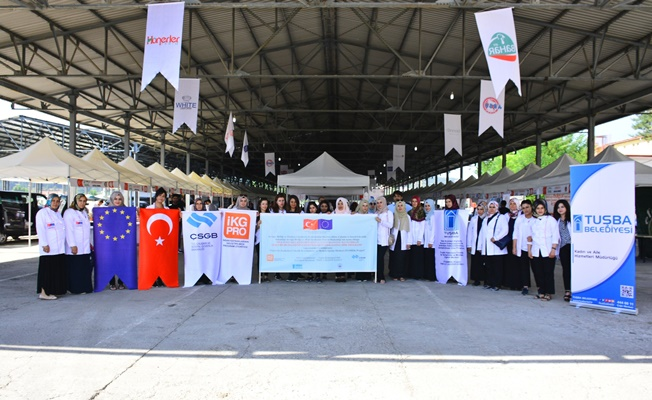 Tuşba Belediyesi, 'TUŞMEK' projesiyle uluslararası festivalde