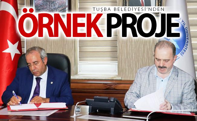 Tuşba Belediyesi'nden örnek proje