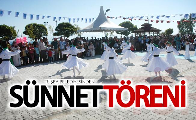 Tuşba Belediyesinden sünnet töreni