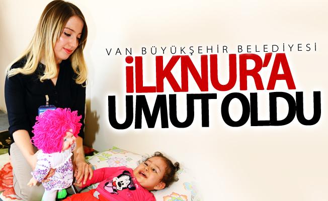 Van Büyükşehir Belediyesi minik İlknur'a umut oldu