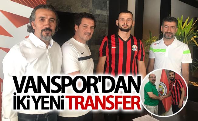 Vanspor'dan iki yeni transfer