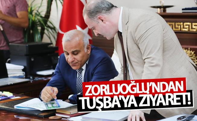 Zorluoğlu'ndan Tuşba Belediyesi'ne ziyaret