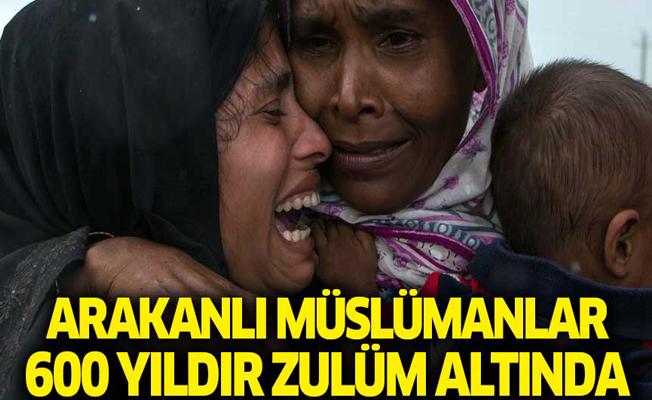 Arakanlı Müslümanlar 600 yıldır zulüm altında