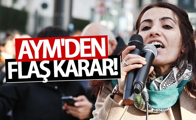 AYM'den Van Milletvekili Tuğba Hezer Öztürk hakkında karar