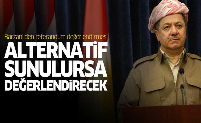 Barzani'den 'referandum' değerlendirmesi