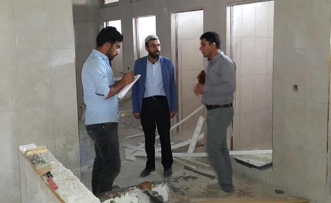 Çaldıran Belediyesinden Kur'an kursu onarımı