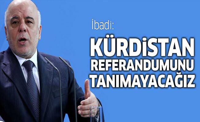 İbadi: Kürdistan referandumunu tanımayacağız