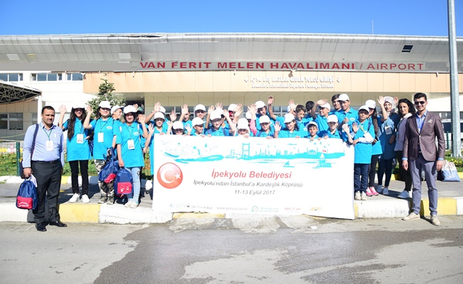 İpekyolu'ndan İstanbul'a 'Kardeşlik' köprüsü