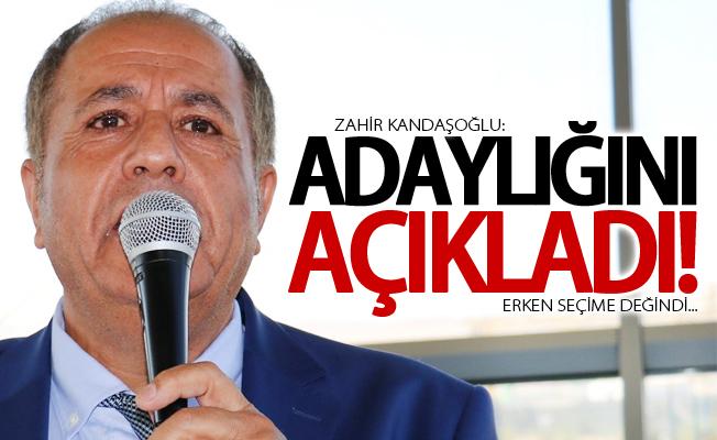 Kandaşoğlu, TSO Başkanlığına aday oldu