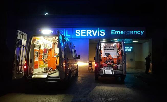 Minibüse silahlı saldırı: 3 ölü, 7 yaralı