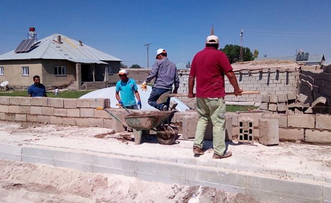 Saray ilçesi inşaat alanına döndü