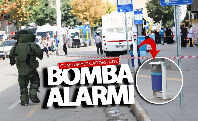 SON DAKİKA! Van Cumhuriyet Caddesi'nde bomba alarmı