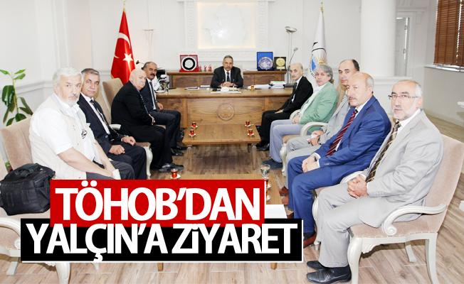 TÖHOB'dan Mustafa Yalçın'a ziyaret