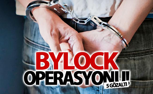 Van'da 'Bylock' operasyonu: 5 gözaltı