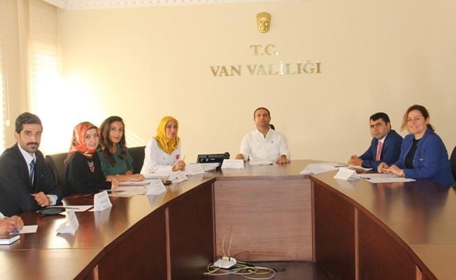 Van'da 'Okulda Sağlığın Korunması ve Geliştirilmesi' programı