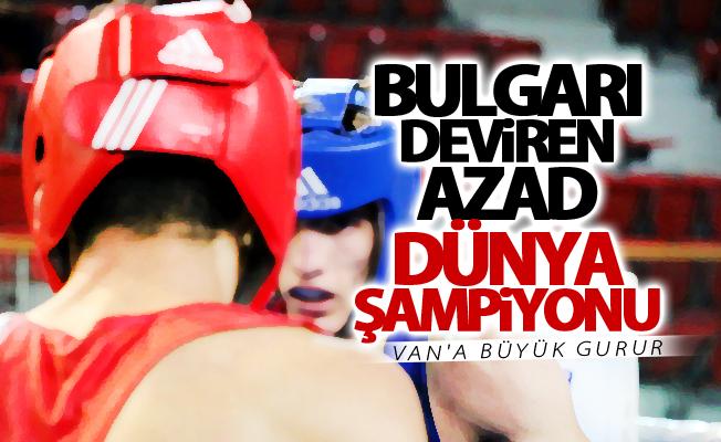 Van'lı boksör Azad Demirhan Türkiye şampiyonu oldu
