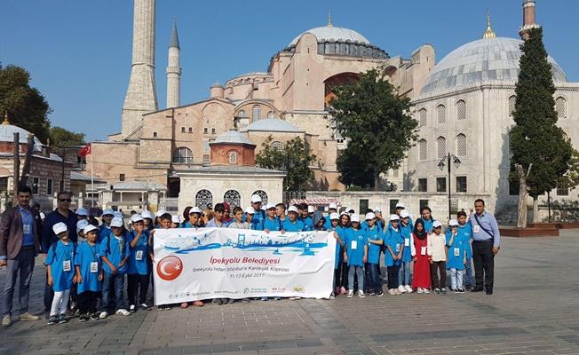Yetim ve öksüz çocukların İstanbul gezisi devam ediyor