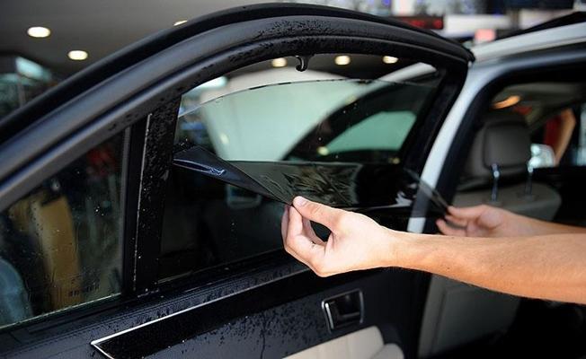 Arabada cam filmi ve renkli cama yeniden yasak