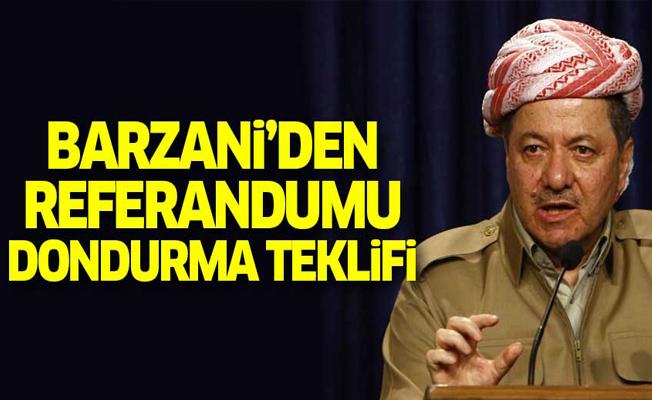 Barzani'den Irak hükümetine referandum teklifi!