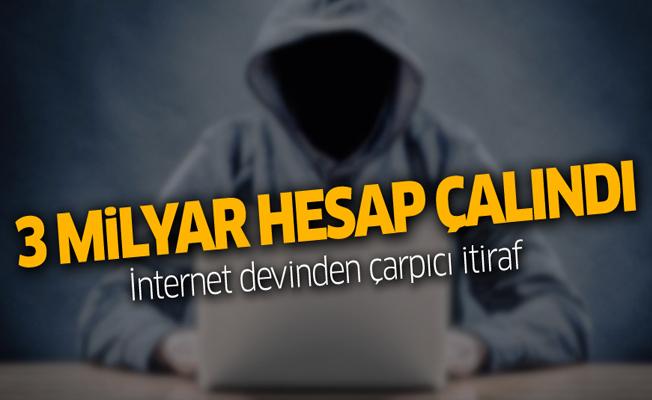 Dikkat! İnternet devi itiraf etti: 3 milyar hesap çalındı