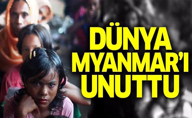 Dünya Myanmar'ı unuttu