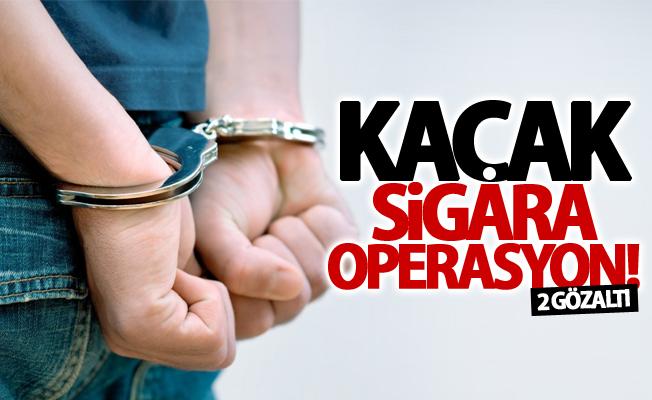 Erciş'te kaçakçılık operasyonu! 2 gözaltı