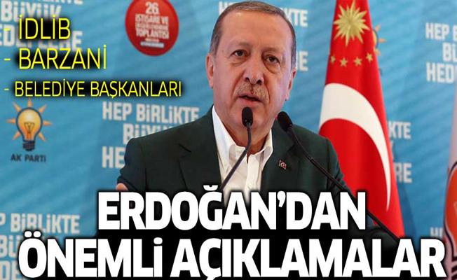 Erdoğan: Belediyelerde değişim olmazsa millet değişimi sandıkta yapar