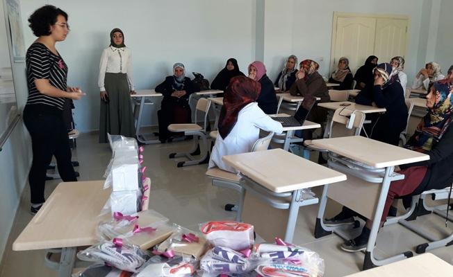 Gürpınarlı kadınlara sağlık semineri