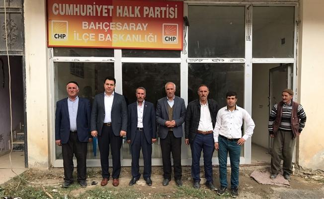 Kaymakam Özcan'dan CHP'ye iade-i ziyaret
