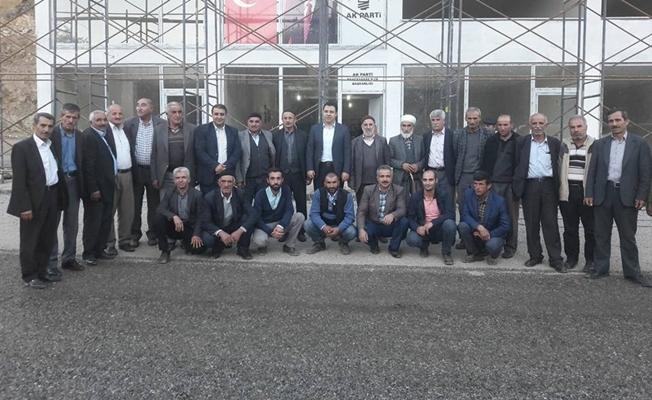 Özcan'dan AK Parti teşkilatına iadeyi ziyaret