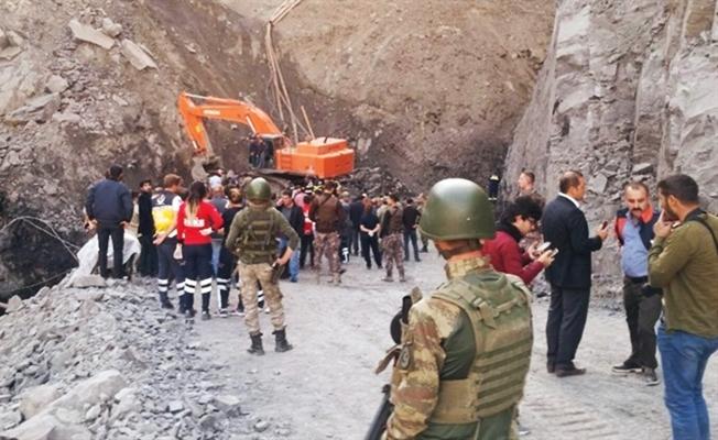 Şırnak'ta göçük'te 7 işçi hayatını kaybetti