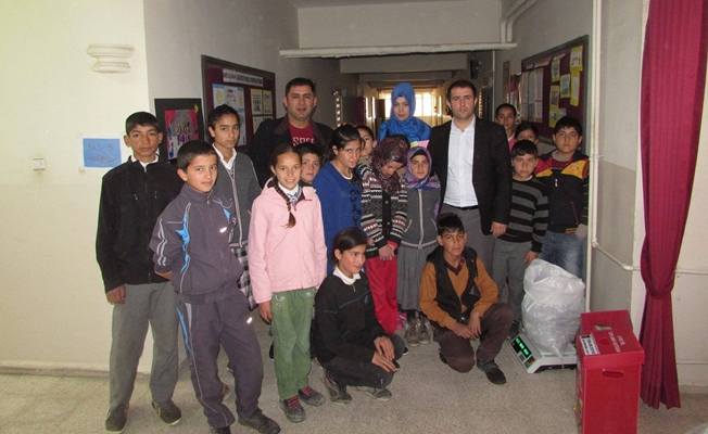 Tuşba Belediyesi'nden ödüllü atık pil toplama kampanyası