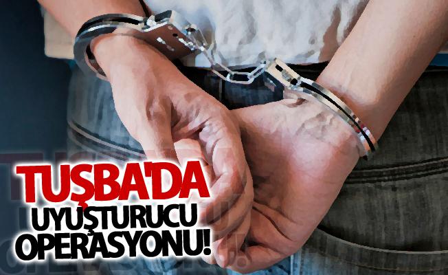 Tuşba'da uyuşturucu operasyonu! 1 gözaltı