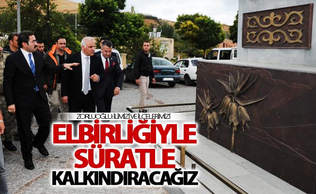 Vali Murat Zorluoğlu'nun Gevaş ziyareti