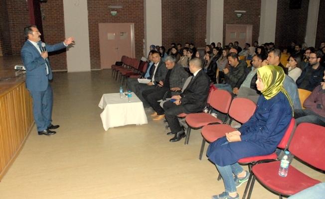 Van'da rehber öğretmenlere yönelik seminer