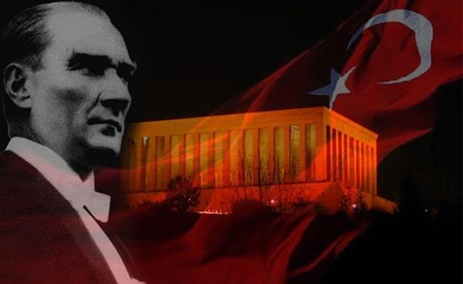 10 Kasım Atatürk'ü Anma Günü mesajı