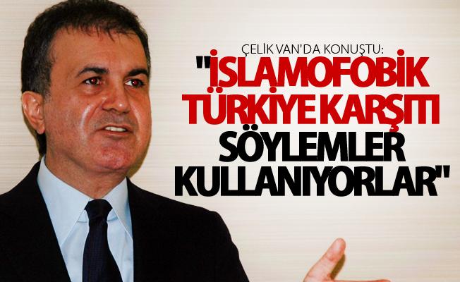 AB Bakanı Çelik Van'da gündeme dair değerlendirmelerde bulundu