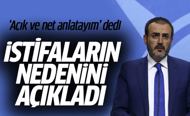 AK Partili Ünal istifaların nedenini açıkladı