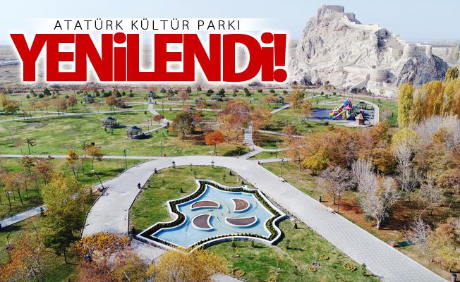 Atatürk Kültür Parkı yenilendi
