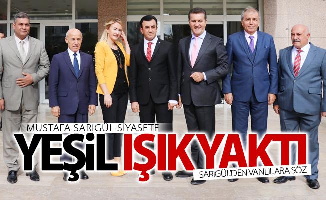 Mustafa Sarıgül'den Vanlılara söz