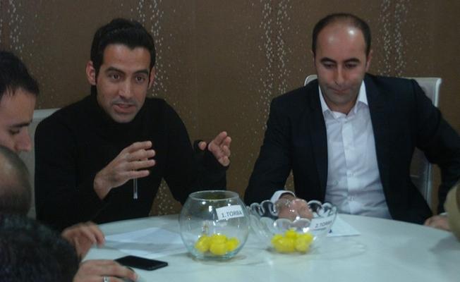 Özalp Belediyesi Futbol Turnuvası ikinci tur kuraları çekildi