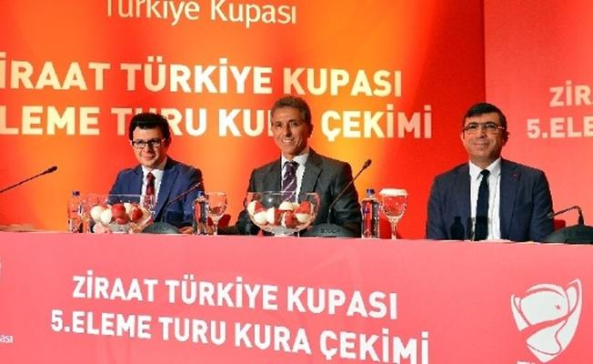 Türkiye Kupası'nda 5. tur maçlarının kura çekimi yapıldı