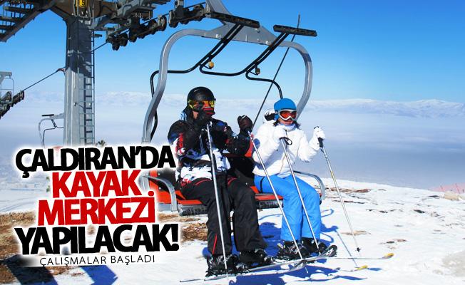 Çaldıran'da kayak merkezi yapılacak!