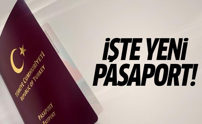 Yeni pasaportlar ortaya çıktı