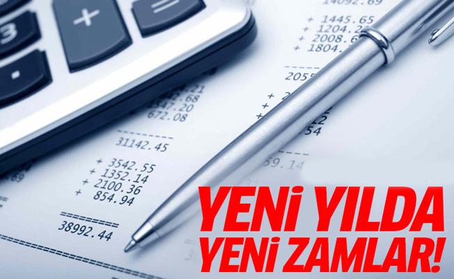Yeni yılda vergi ve cezalara gelecek zam belli oldu