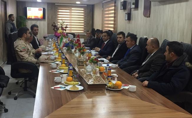 Çaldıran Kaymakamı Dundar, İran'da sınır güvenliği toplantısına katıldı